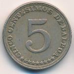 Панама, 5 сентесимо (1929 г.)
