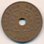 Южная Родезия, 1 пенни (1942 г.)