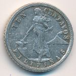 Филиппины, 10 сентаво (1912 г.)