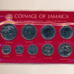 Ямайка, Набор монет (1981 г.)