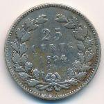 Нидерланды, 25 центов (1894 г.)