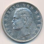Бавария, 3 марки (1909 г.)