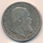 Вюртемберг, 5 марок (1902 г.)