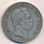 Гессен-Дармштадт, 5 марок (1876 г.)