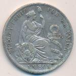 Перу, 1 соль (1888 г.)