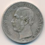 Ганновер, 1 талер (1854 г.)