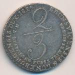 Ганновер, 2/3 талера (1826 г.)