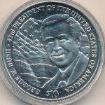 Либерия, 10 долларов (2001–2002 г.)