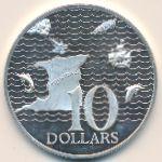 Тринидад и Тобаго, 10 долларов (1973 г.)