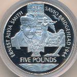 Олдерни, 5 фунтов (2006 г.)
