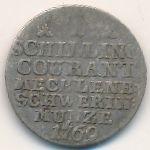 Мекленбург-Шверин, 1 шиллинг (1769 г.)