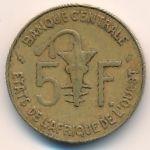 Западная Африка, 5 франков (1982 г.)