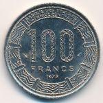 Габон, 100 франков (1975 г.)