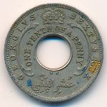 British West Africa, 1/10 penny, 1949–1950