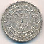 Тунис, 1 франк (1908–1916 г.)