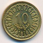 Тунис, 10 миллим (1993 г.)
