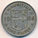 Маврикий, 1 рупия (1956 г.)