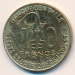 Западная Африка, 10 франков (2001 г.)