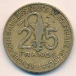 Западная Африка, 25 франков (1991 г.)