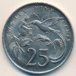Ямайка, 25 центов (1984 г.)