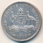 Австралия, 1 флорин (1910 г.)