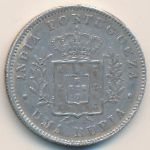 Гоа, 1 рупия (1881 г.)