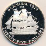Бермудские острова, 25 долларов (1977 г.)