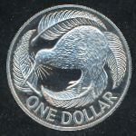 Новая Зеландия, 1 доллар (1992 г.)