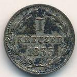 Нассау, 1 крейцер (1835 г.)