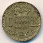 Монако, 10 франков (1951 г.)