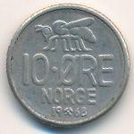 Норвегия, 10 эре (1968 г.)