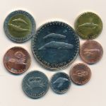 Тристан-да-Кунья, Набор монет (2008 г.)