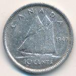 Канада, 10 центов (1940–1945 г.)