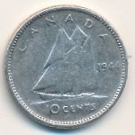 Канада, 10 центов (1944 г.)