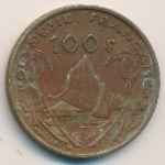Французская Полинезия, 100 франков (1999 г.)