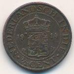 Netherlands East Indies, 1/2 cent, 1914–1933