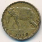 Бельгийское Конго, 1 франк (1949 г.)