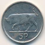 Ирландия, 5 пенсов (1995 г.)