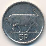 Ирландия, 5 пенсов (1998 г.)