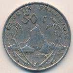 Французская Полинезия, 50 франков (2007–2009 г.)