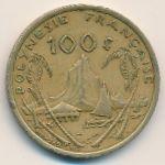 Французская Полинезия, 100 франков (2006–2010 г.)