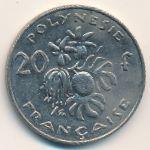 Французская Полинезия, 20 франков (2009 г.)