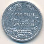 Французская Полинезия, 1 франк (1979–2009 г.)