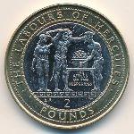 Гибралтар, 2 фунта (2000 г.)
