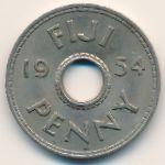 Фиджи, 1 пенни (1954 г.)
