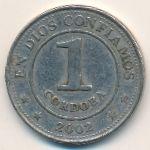 Никарагуа, 1 кордоба (2002 г.)
