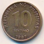 Филиппины, 10 сентимо (1997 г.)