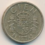 Испания, 100 песет (1984 г.)