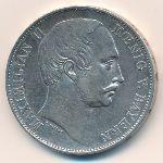 Бавария, 1 талер (1864 г.)