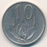 ЮАР, 10 центов (1972 г.)